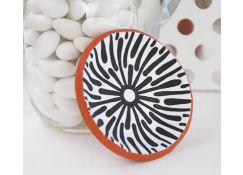 Original Sculpey® Terra Cotta Graphic Painted Mini-Bowl