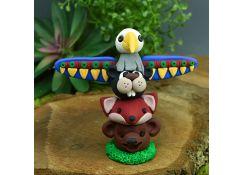 Sculpey III® - Colorful Animal Totem Pole