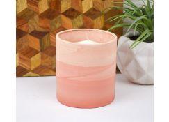 Pink Faux Sandstone Vase