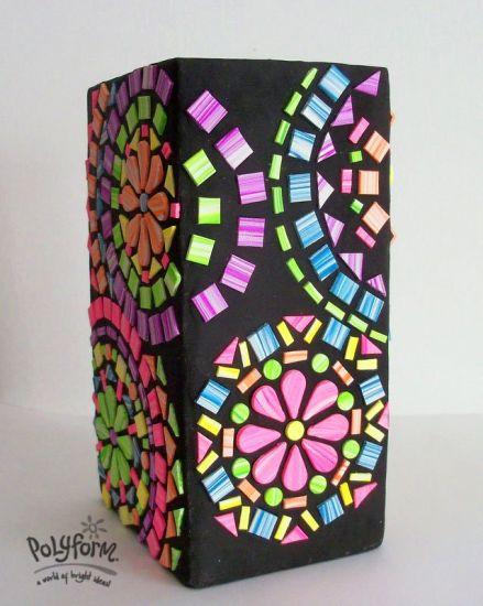 Sculpey® III Mosaic Vase