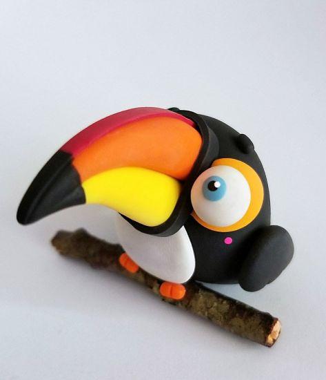 Sculpey III Little Toucan