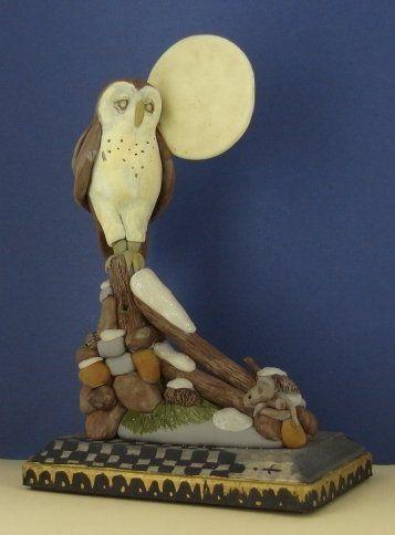 Super Sculpey® Owl