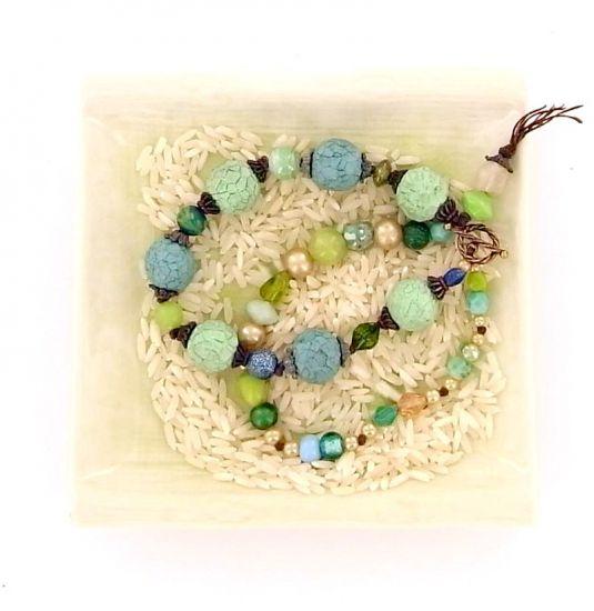 Sculpey® III Rustic Faceted Bead Bracelet