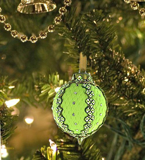 Sculpey Soufflé Christmas Ornament