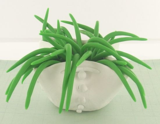 Sculpey Air-Dry™ and Sculpey III® Faux Plant