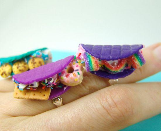 Sculpey III Mini Taco Rings