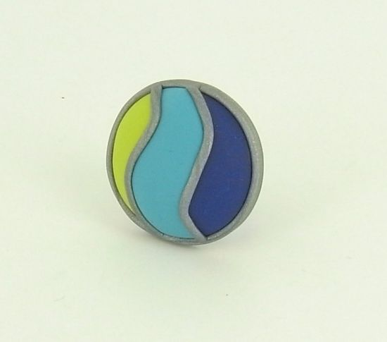 premo! Tri-Color Cabochon Ring