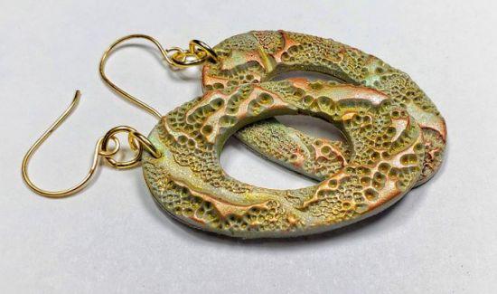 Sculpey Soufflé™ Eclectic Earrings Featuring Unicorn Spit