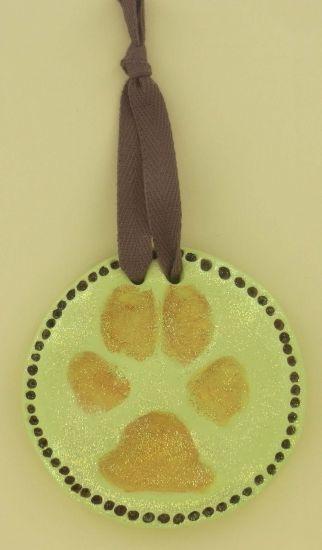 Sculpey Keepsake Pawprint Ornament - Pawprint