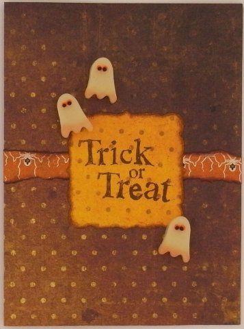 Sculpey® III Trick or Treat Card