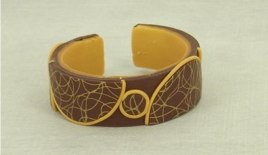premo! Silk Screen Cuff Bracelet