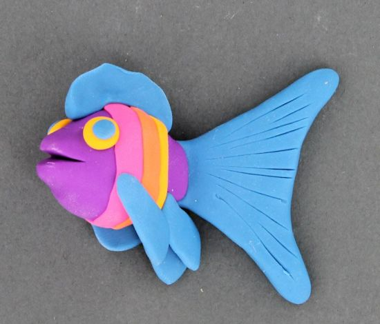 Amazing Eraser Clay Fun Fish