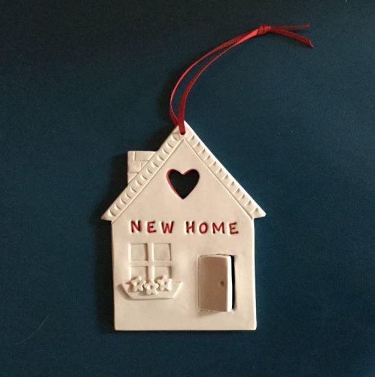 Original Sculpey New House Ornament
