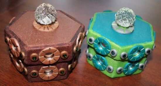 premo! Ornate Paper Clip Box