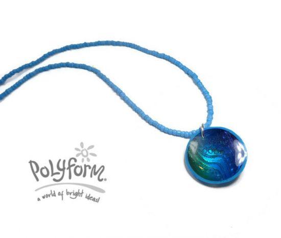 Premo! 'Blue Water'  Necklace