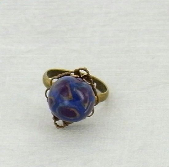 premo! Cane Covered Bead Ring