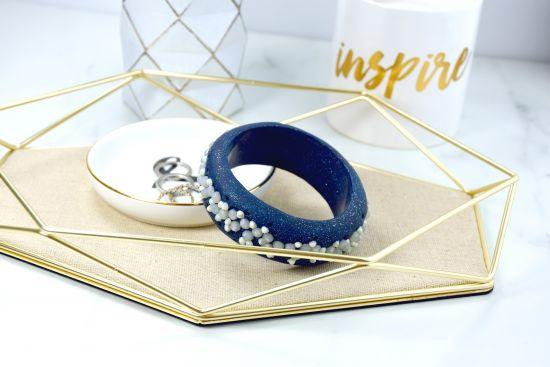 Silver tone key ring or purse clip
