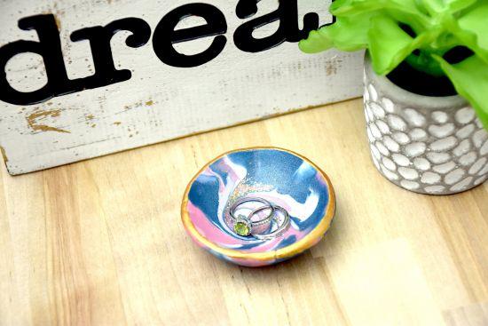 Sculpey III® Galaxy Ring Dish