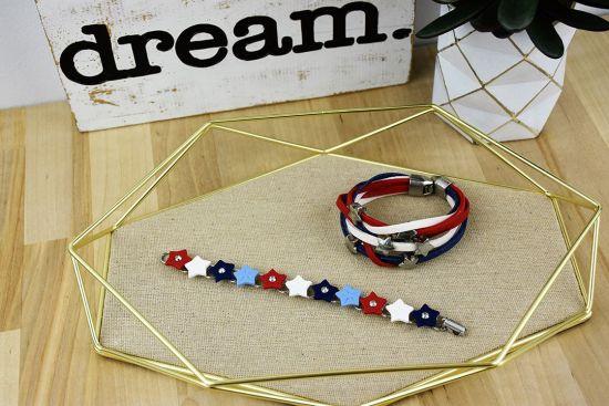 Premo! Accents Stars and Stripes Bracelet