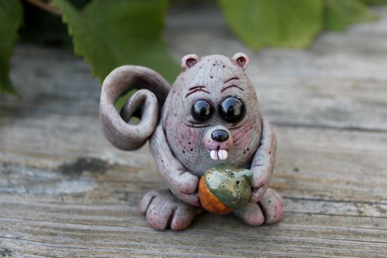 premo! Sculpey Nutty Squirrel