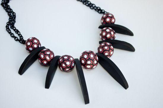 Sculpey® Soufflé Dramatic Millifiori Necklace