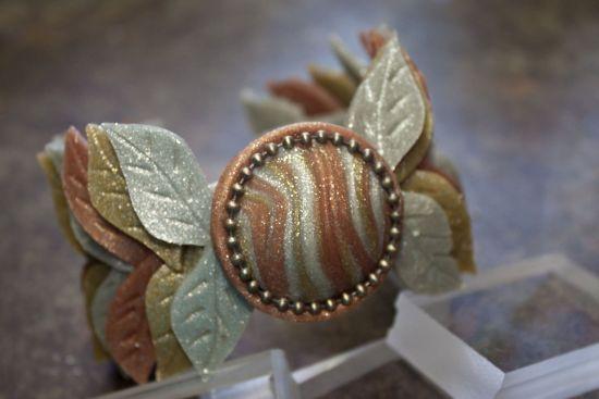 premo! Dramatic Leaf Cuff Bracelet