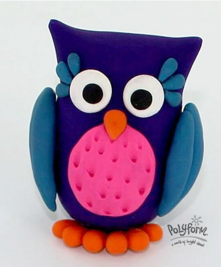 Sculpey® III Whoot! Whoot! Owl