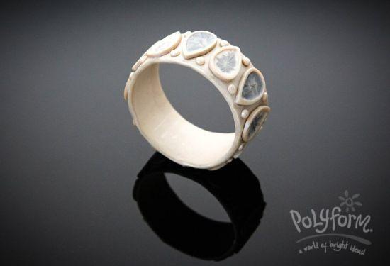 Premo! Shimmering Pearl White Bracelet