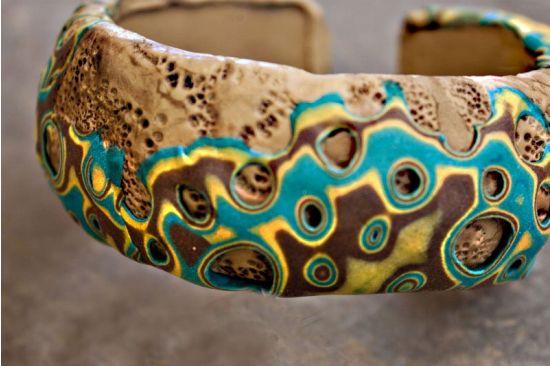 Sculpey Soufflé Ancient World Bracelet