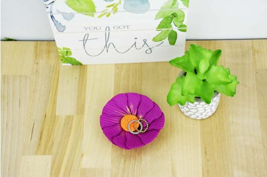 Sculpey III® Flower Petal Bowl Created with Cutters
