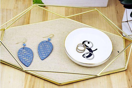 Sculpey Soufflé™ Patterned Earrings