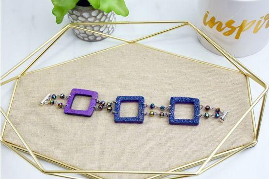 Sculpey Premo™ Square Beaded Bracelet