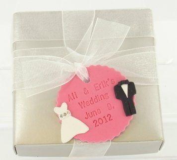 Sculpey III wedding tags