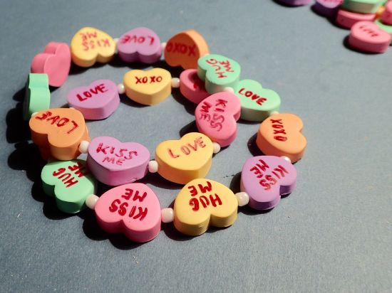 premo! Conversation Heart Bracelet