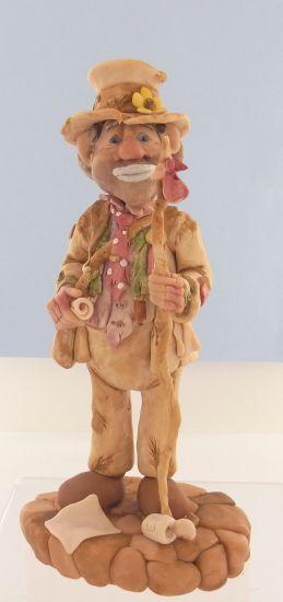 Super Sculpey® Joe the Hobo Clown