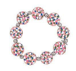 Sculpey Air-Dry™ Polka Dot Air Dry Clay Bracelet