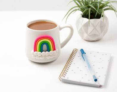 Sculpey III® Rainbow Mug