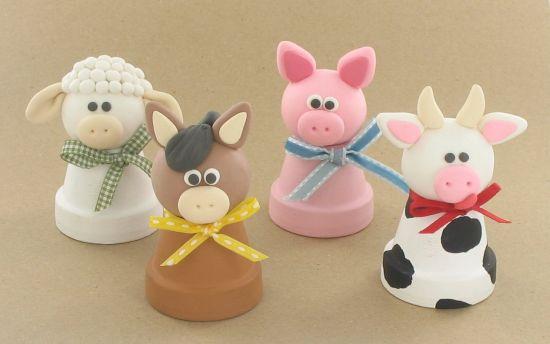 Bake Shop Light™ Friendly Farm Characters