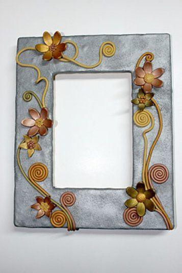 Sculpey® Metallic Flower Frame