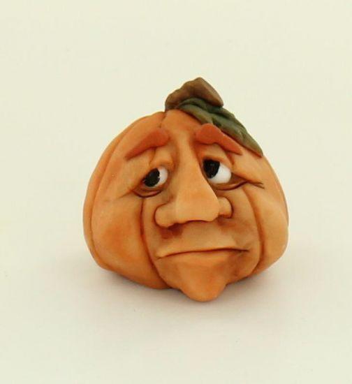 Super Sculpey Pumpkin Head