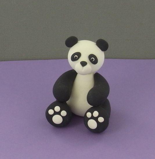 Sculpey® III Panda Bear
