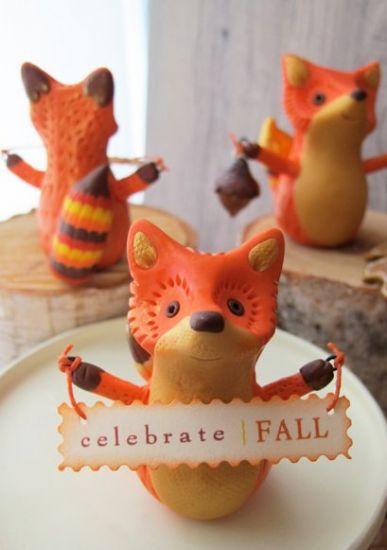 Sculpey Premo™ Autumn Fox Figurine