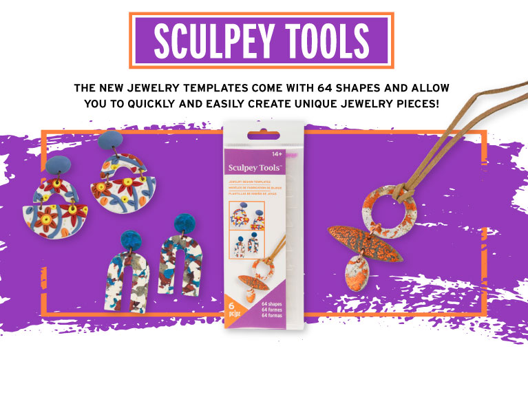 Sculpey Tools To Easily Create Jewelry
