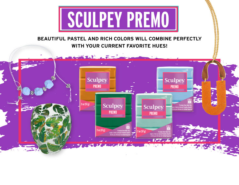 New Sculpey Premo Colors with Inspirational Projects
