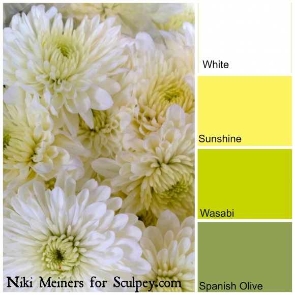color combinations for clay