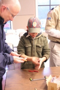 Premo Sculpey Clay crafts with Boy scouts