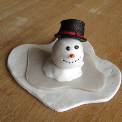 Frostie the melted snowman