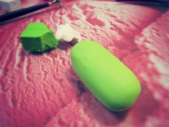 use granny smith clay color