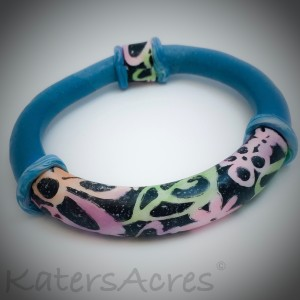 Chalk Bangled Bracelet by Katie Oskin of KatersAcres