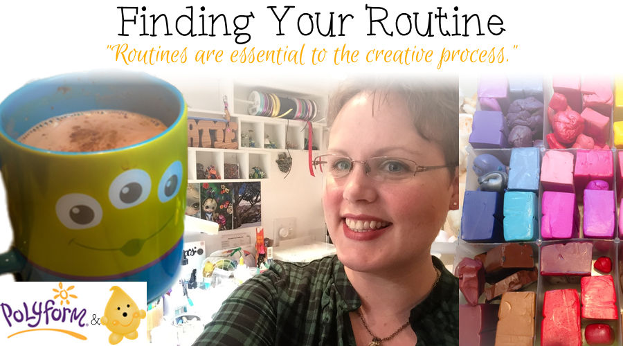 Finding Your Routine to Enhance Your Creativity by KatersAcres for Polyform